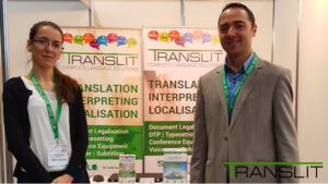 Translit Exhibits at Procurex Ireland 2017