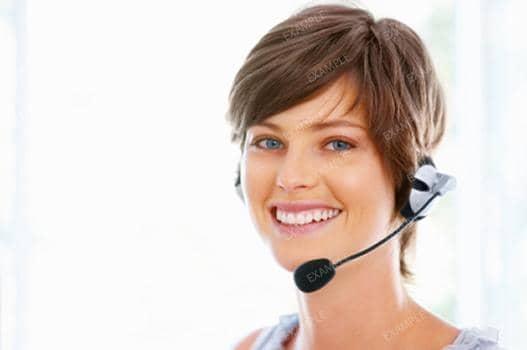 customer care woman